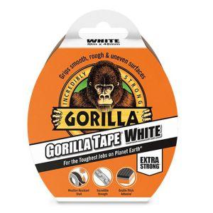Gorilla Tape, 10m - White