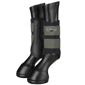LeMieux Grafter Brushing Boots, Set of 2  - Oak