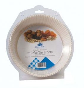 Greaseproof Cake Tin Liner, 7in - 50 Pack