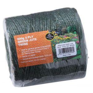 Garland 3 Ply Green Jute Twine Ball - 500g