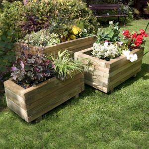 Zest 4 Leisure Gresford Planters - Set of 3