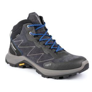Grisport Men's Terrain Mid Walking Boot – Dark Grey