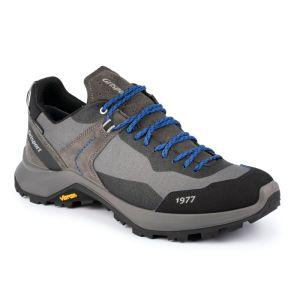 Grisport Men's Trident Low Walking Boot – Grey / Blue
