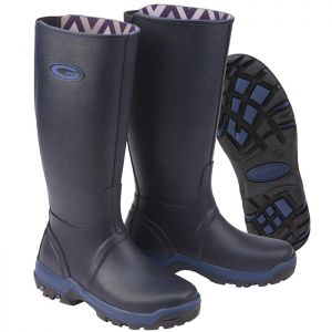 Grub's Rainline Wellington Boots - Navy