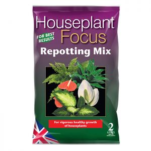Growth Technology  Houseplant Focus Peat Free Repotting Mix - 2L