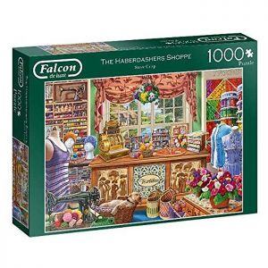 Haberdashers Shoppe Jigsaw Puzzle by Falcon – 1000 Pieces