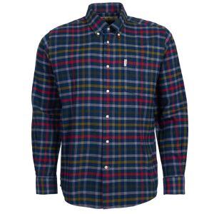 Barbour Hadlo Check Shirt - Navy