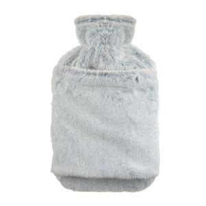 KS Brands Hot Water Bottle/Hand Warmer, Grey - 2L