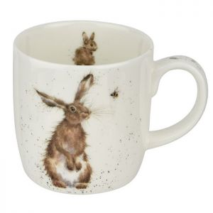 Royal Worcester Wrendale Mug - Hare and the Bee