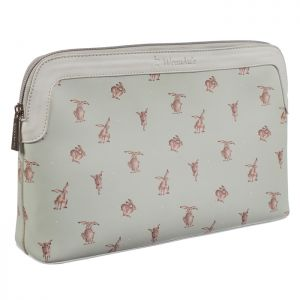 Wrendale Designs Large 'Hare-Brained' Cosmetic Bag