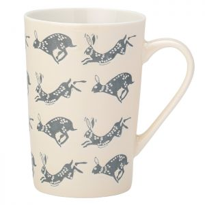 The English Tableware Company Artisan Hare Embossed Latte Mug