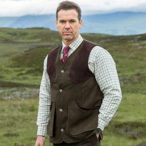 Hoggs of Fife Harewood Tweed Vest