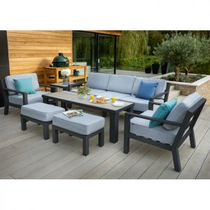 Hartman Apollo 7 Seater Lounge Set with Free Side Table