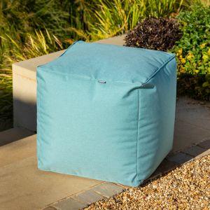 Hartman Outdoor Pouffe - Jade Blue