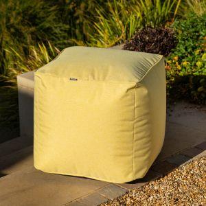 Hartman Outdoor Pouffe - Ochre Yellow