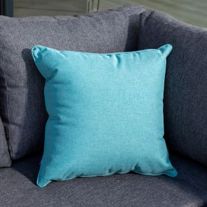 Hartman Square Scatter Cushion - Jade Blue
