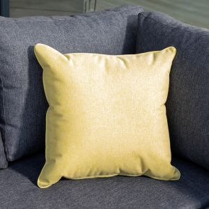 Hartman Square Scatter Cushion - Ocre Yellow