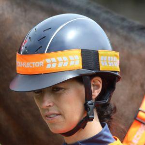Shires EQUI-FLECTOR® Hat Band – Orange