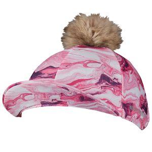 Weatherbeeta Marble Hat Silk – Pink