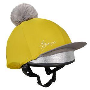 LeMieux Faux Pom Pom Hat Silk - Dijon