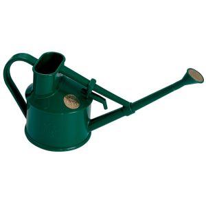 Haws Plastic Handy Indoor Watering Can - Green, 0.7 Litre