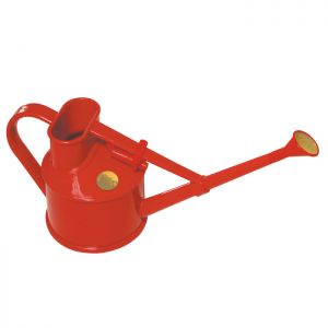 Haws Plastic Handy Indoor Watering Can - Red, 0.7 Litre