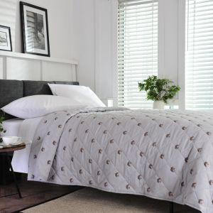 Deyong Hedgehog Bedspread, Grey