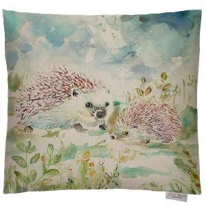 Voyage Maison Lorient Decor Cushion – Hedgehog Family