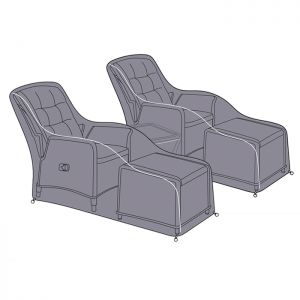 Hartman Heritage 2 Seater Reclining Companion Set Protective Cover Set