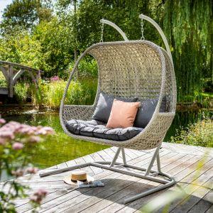 Hartman Heritage Double Hanging Chair - Ash/Slate