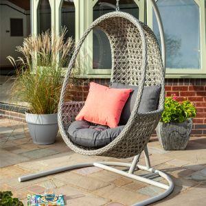 Hartman Heritage Single Hanging Egg Chair – Ash/Slate