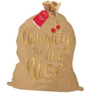 Christmas Hessian Sack