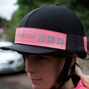Shires EQUI-FLECTOR® Hat Band - Pink