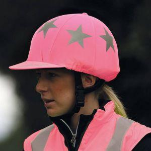 Shires EQUI-FLECTOR® Hat Cover - Pink