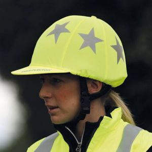 Shires EQUI-FLECTOR® Hat Cover - Yellow