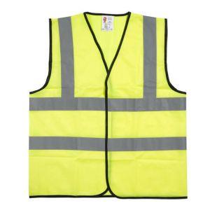 Warrior Children's Hi-Vis Waistcoat - Yellow