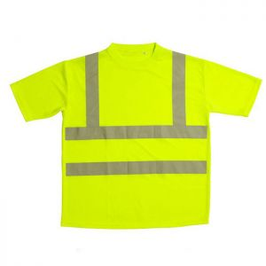 Warrior Hi-Vis T-Shirt - Yellow