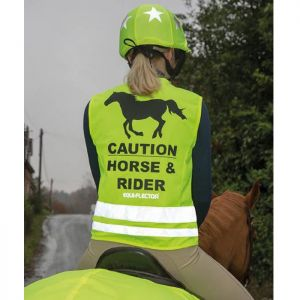 Shires EQUI-FLECTOR® Safety Vest - Yellow