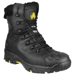 Amblers FS999 Zipped Safety Boots – Black