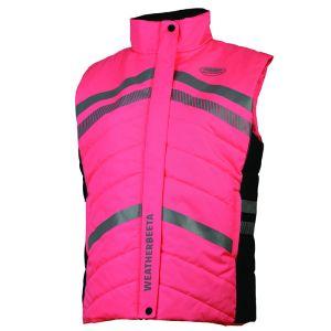 Weatherbeeta Reflective Quilted Gilet – Pink