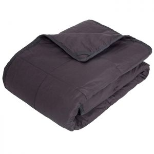 Highams 4kg Weighted Blanket – Dark Grey