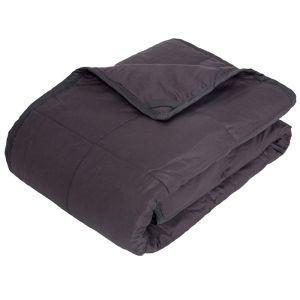 Highams 4kg Weighted Blanket – Dark Grey