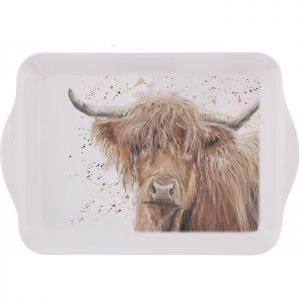 Bree Merryn Small Tray – Bonnie the Highland Cow