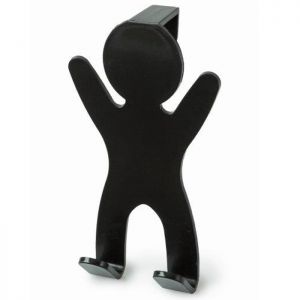 Blue Canyon Over Door Hook Man - Black