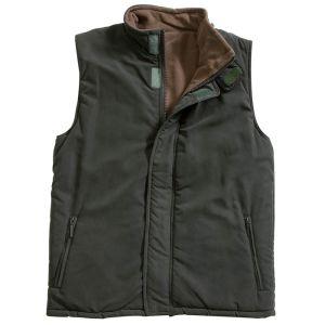 Hoggs Breezer II Body Warmer - Olive / Mocha