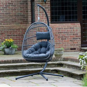 Holly Foldable Hanging Egg Chair
