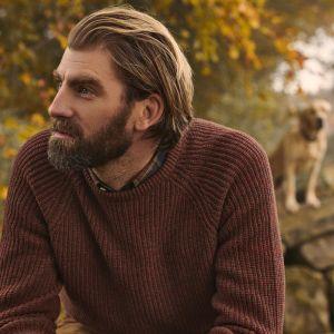 Barbour Men's Horseford Crew Neck Sweater – Cinnamon