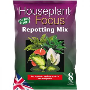 Growth Technology  Houseplant Focus Peat Free Repotting Mix - 8L