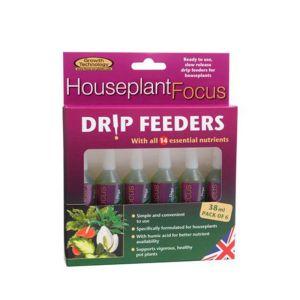 6 x Growth Technology Houseplant Drip Feeder - 38ml