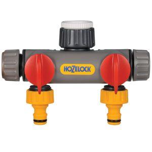 Hozelock 2252 2-Way Tap Connector
